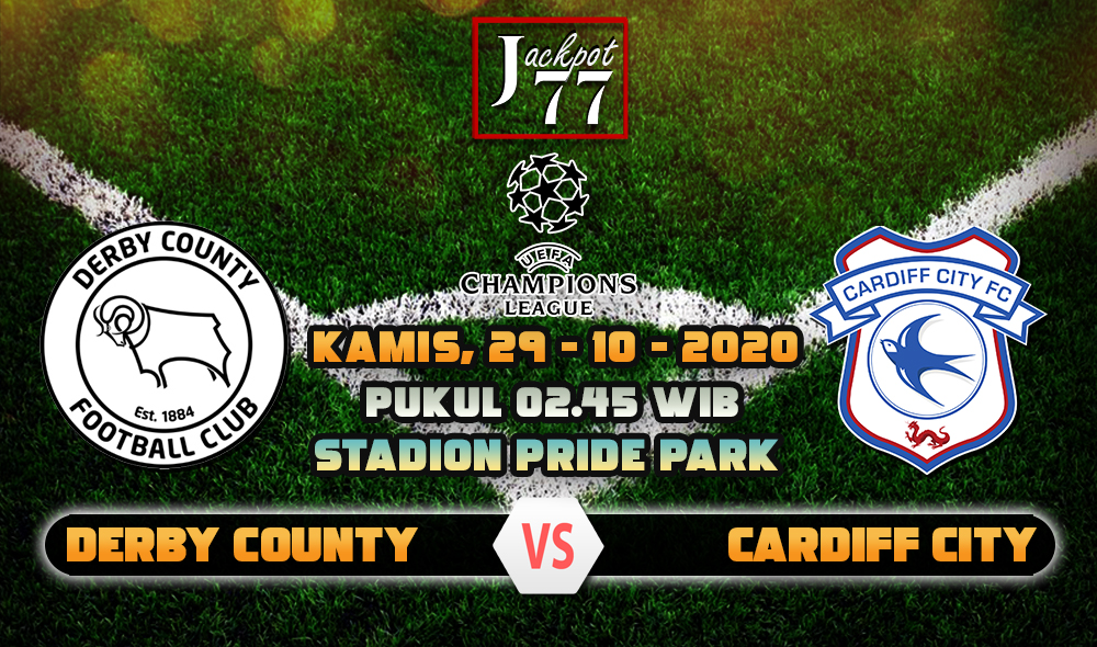 Prediksi Bola Derby County Vs Cardiff City 29 Oktober 2020