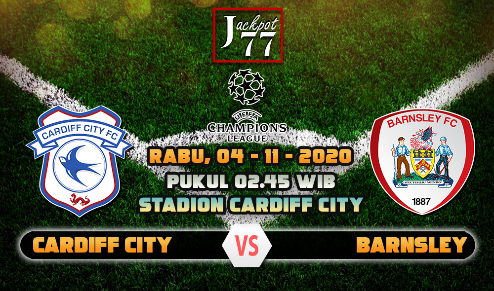 Prediksi Bola Cardiff City Vs Barnsley 4 November 2020