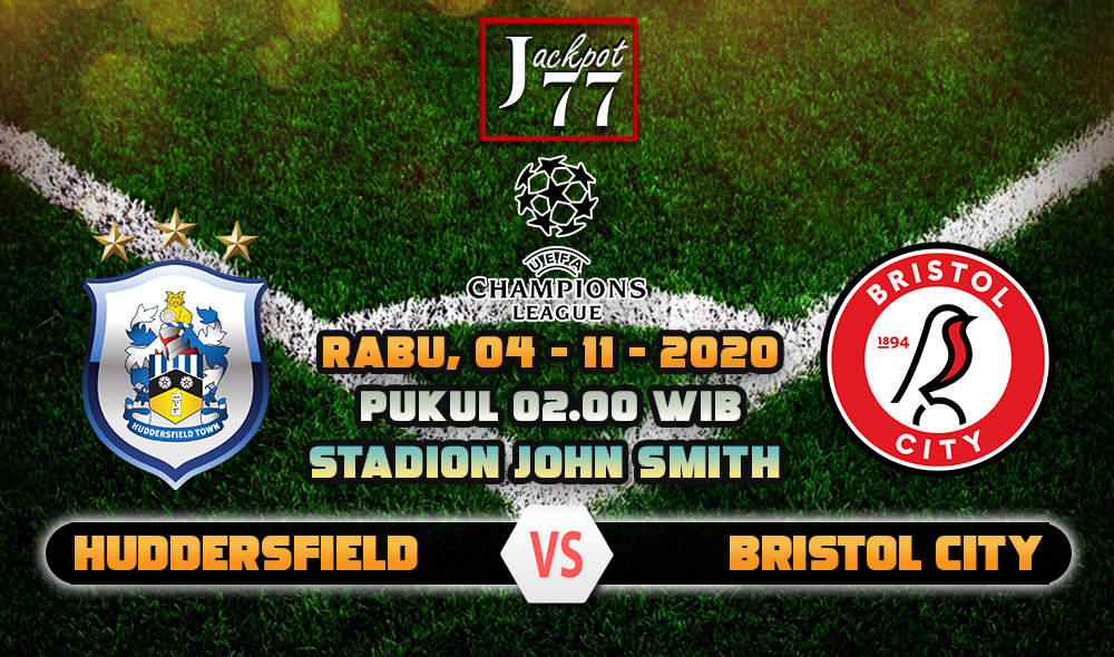 Prediksi Bola Huddersfield Vs Bristol City 04 November 2020