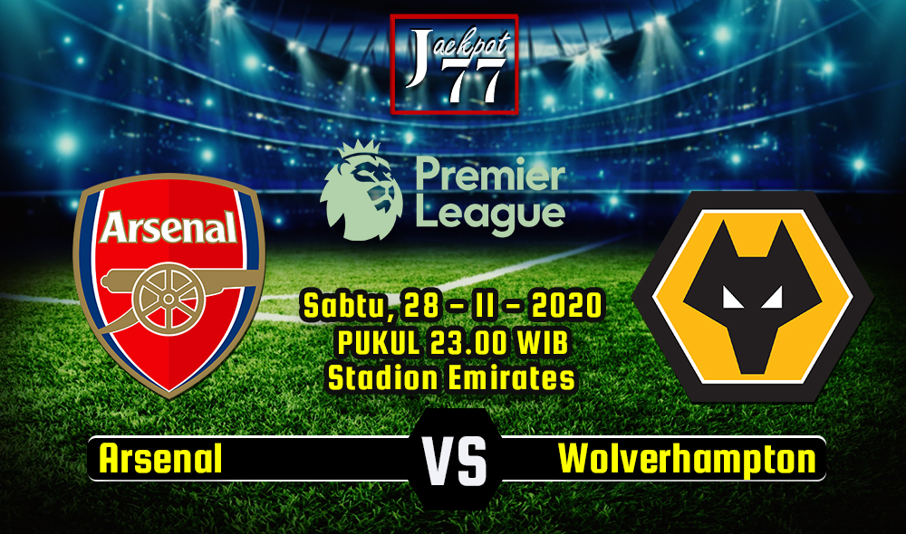 Prediksi Bola Arsenal Vs Wolverhampton 28 November 2020