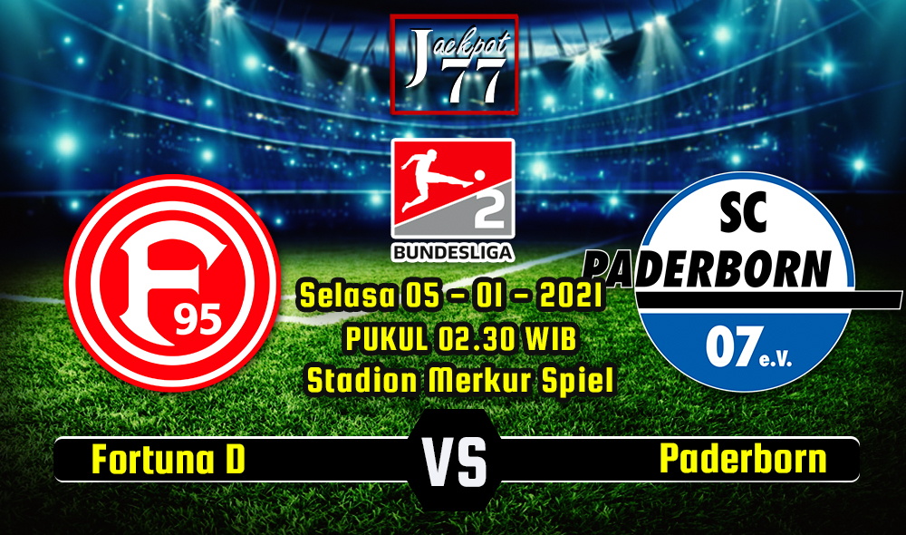 Image result for Prediksi Bola Fortuna Dusseldorf Vs Paderborn 5 Januari 2021