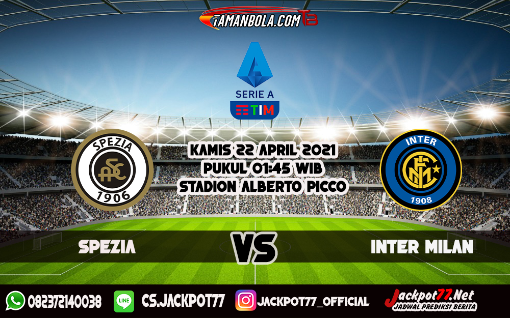 Prediksi Spezia Vs Inter Milan 22 April 2021