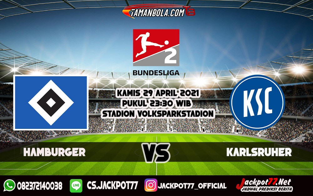 Prediksi Hamburger Vs Karlsruher 29 April 2021