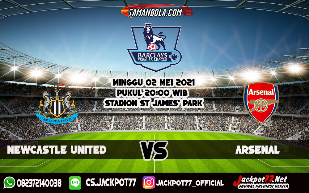 Prediksi Newcastle United Vs Arsenal 2 Mei 2021