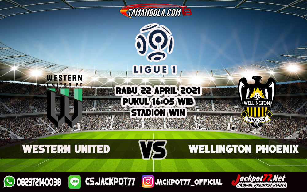 Prediksi Bola Western United Vs Wellington Phoenix 22 April 2021