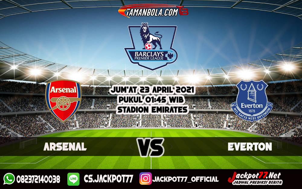 Prediksi Bola Arsenal Vs Everton 24 April 2021